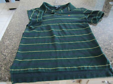Ralph Lauren Polo Golf Shirt - Green/Purple/Yellow - Youth Medium 12/14
