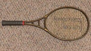 "Vintage 1982 Prince Boron 4 3/8"" 110 Tennis Racquet Racket #6683"