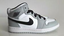Nike Air Jordan 1 Mid Light Smoke Grey (PS) 640734-092 size us 12.5c