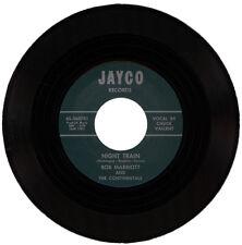 "BOB MARRIOT & THE CONTINENTALS Vocal CHUCK VALLENT  ""NIGHT TRAIN""  R&B  LISTEN!"