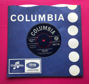 """E91, King Kong, Terry Lightfoots New Orleans Jazzmen 7"""" Single, Ex Condition"""