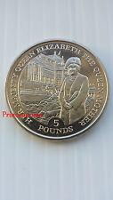 1995 * * UNC Gibraltar 50TH aniversario de la final de la Segunda Guerra Mundial £ 5 cinco libras moneda-AA