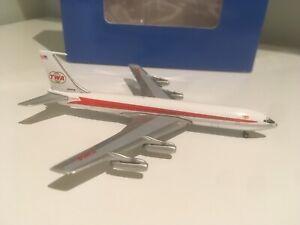 1/400 TWA Trans World Boeing 707 Aeroclassics