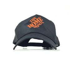 42c20b36ff4a3 The Home Depot Embroidered Black Baseball Cap Hat SnapBack Men s Size