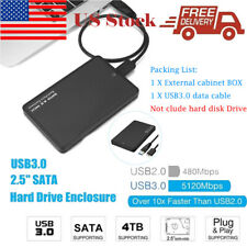 4TB USB 3.0 Portable External Hard Drive Case Ultra SATA Storage Devices Box