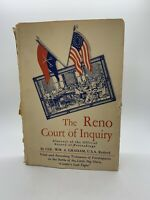 the Reno Court of Inquiry William Graham 1954 1st Ed HC DJ Book Civil War