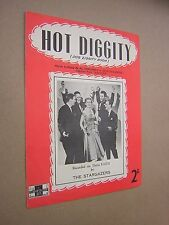 HOT DIGGITY (DOG ZIGGITY BOOM). THE STARGAZERS. 1956. VINTAGE SHEET MUSIC SCORE