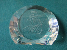 Swarovski Sculpture Crystal Made In Austria Antonio Paperweight Signed Nib