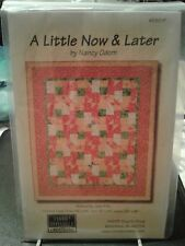 NEW A Little Now & Later Quilt Pattern Timid Thimble Creations