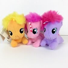 My Little Pony Baby Plush Set Playskool Friends Applejack Pinkie Pie Starsong