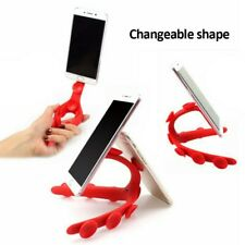 Silicone Suction Cup Flexible Octopus Tripod Phone Bracket Stand Holder New
