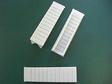 Montagekeile aus Kunststoff 128 x 35 x 28 mm
