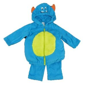 Carters Cute Silly Blue Monster Baby Infant Halloween Costume, 6-9 Months