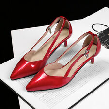 Shiny Synthetic Patent-leather pumps Women's High Heels Chic Shoes lady's Party