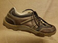 Dr Martens 11471 AW004 Men Brown Leather Lace Up Sneakers Casual Shoes Sz 7 M 8L