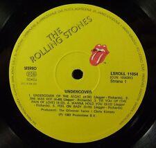 LP ROLLING STONES Undercover Yugoslavia JUGOTON LSROLL 11054,insert,inner sleeve