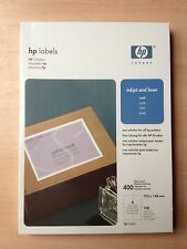 HP 40 x Large Address Sticky Labels 10x15 Blank Best Label Deal on eBay HP Brand