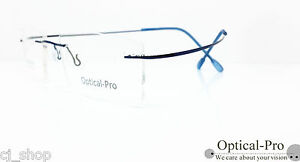 Hingeless rimless eyewear frames TITANIUM 150mm Silhouette replaceable