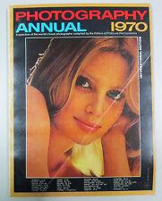 PHOTOGRAPHY ANNUAL 1970 International edition New York Ziff Davis