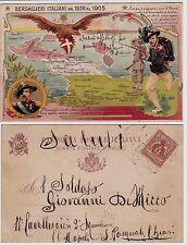 #  MILITARI: BERSAGLIERI ITALIANI DAL 1836 AL 1905