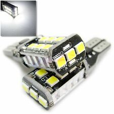 UK 2x T15 (T10) Coche Ultra Brillante LED Base CANBUS W16W 194 Luz Lateral Bombilla 12v