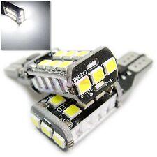 UK 2x T15 (T10 base) CAR ULTRA BRIGHT LED CANBUS W16W 194 BULB SIDE LIGHT 12v
