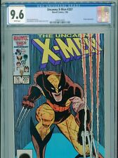 1986 MARVEL UNCANNY X-MEN #207 CLASSIC ROMITA JR. WOLVERINE COVER CGC 9.6 BOX5