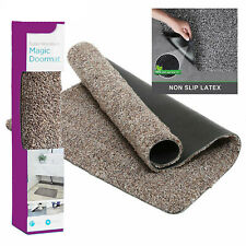 SOFT MAGIC CLEAN FLOOR MAT DOORMAT SUPER ABSORBENT NON SLIP WASHABLE RUG
