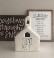 HTF 2020 Rae Dunn Silent Night Church
