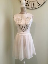 Ladies White Dress Size 8 Missguided