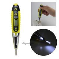 Electric Detector Pen AC/DC Voltage Meter Tester 12V-250V with Indicator Lamp