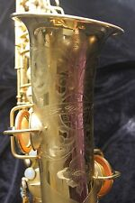 Conn Chu Berry Alto Sax - Beautiful Gold Plate - Rebuilt