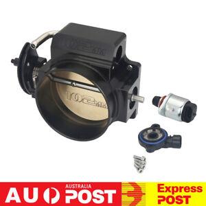 102mm Throttle Body + TPS IAC Throttle Position Sensor For LSX LS LS1 LS2 LS7 BK
