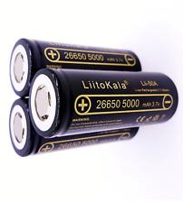 Batería Recargable Lii-50A 26650 5000mAh Li-Ion 3.7v potente antorcha Ebike UK