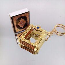 Islamic Key Chain Resin Mini Ark Quran Book Key Ring,Car Key Home Chram Gift