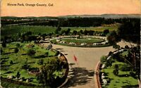 Hewes Park Orange County California  Vintage Postcard BB1