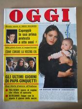 OGGI n°16 1975 Ornella Muti come curare Fiat 126 Enrico berlinguer  [G802]