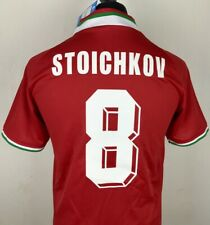 Stoichkov Bulgaria National Team USA World Cup 1994 Sz M Football Soccer Jersey
