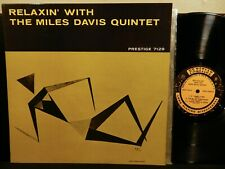 MILES DAVIS QUINTET Relaxin' LP PRESTIGE PRLP 7129 MONO DG RVG NYC COLTRANE