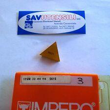 Inserti per fresatura IMPERO TPUN 220404 SK15 (conf. 3 pezzi)