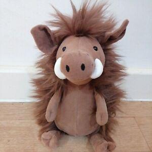 Jellycat Jackadee Warthog Plush Comforter Soft Baby Toy Brown Fluffy BNWT New