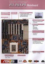 ASUS P/I-P6NP5 Intel 440FX PCI/ISA MediaBus 2.0 Pentium PRO PPro Socket8