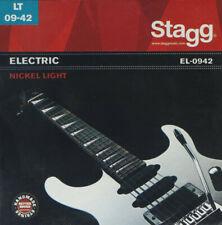 Stagg Steel String Set for Electric Guitar - Nickel Light EL-0942