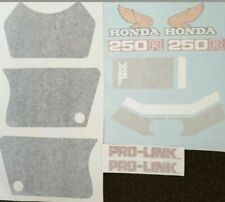 XL250R PAINTWORK DECAL KIT