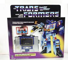 Transformers G1 DECEPTICON COMMUNICATOR SOUNDWAVE @ ACTION FIGURE Without tape