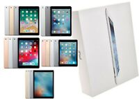 Apple iPad Bundle | 5/6/Airs/Pros | 16/32/64/128/256 GB | WiFi Only | Open Box