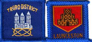 Boy Scout Badges Ext LAUNCESTON + TRURO Districts