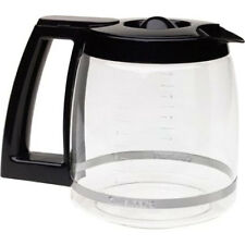 NEW Cuisinart 12 Cup Replacement Carafe, glass - Black-DCC-1200PRC