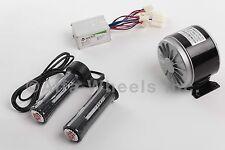 300 W 24 V DC electric motor kit w speed controller & Twist Throttle