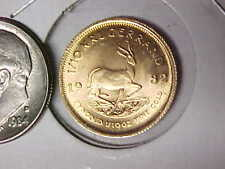 1982 Krugerrand 1/10 oz Gold BU Condition South Africa Gold Coin